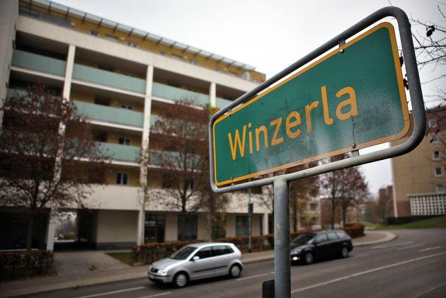 In einem Plattenbau in Jena-Winzerla passierte die grausame Tat.