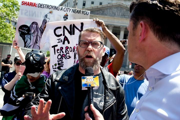 Gavin McInnes, founder of the neo-fascist gang the Proud Boys.