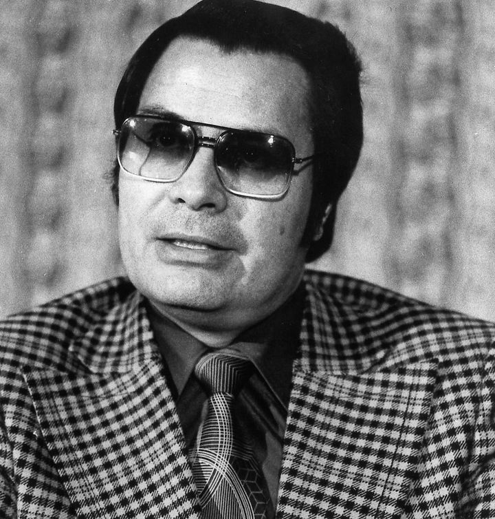 The Rev. Jim Jones, seen in a January 1976 photo, led his Peoples Temple followers to mass death.