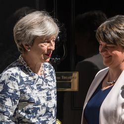 Theresa May's DUP Alliance In Jeopardy As It Votes With Labour Party On Budget