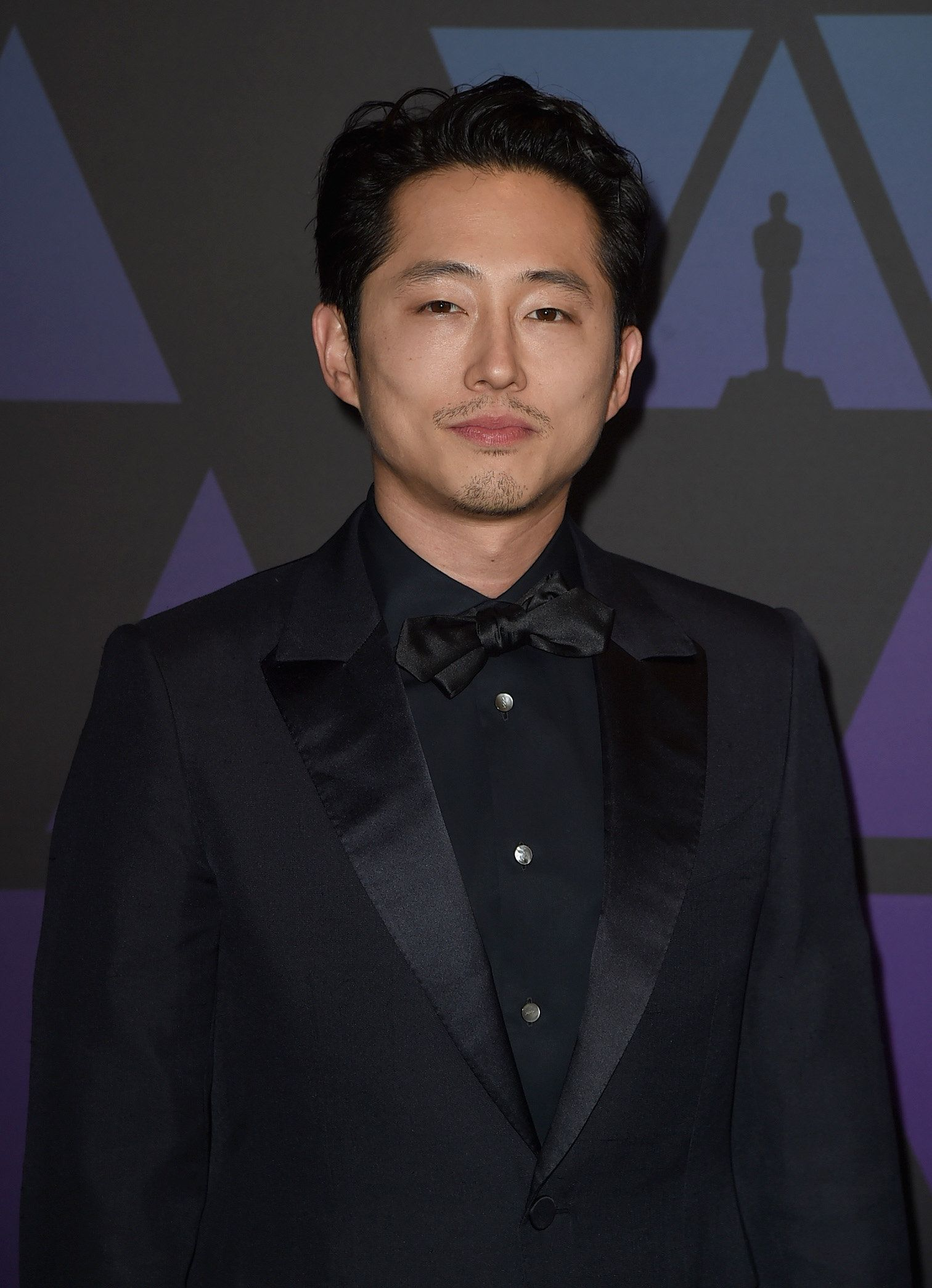 HOLLYWOOD, CA - NOVEMBER 18:  Steven Yeun attends the Academy of Motion Picture Arts and Sciences' 10th annual Governors Awards at The Ray Dolby Ballroom at Hollywood & Highland Center on November 18, 2018 in Hollywood, California.  (Photo by Kevin Winter/Getty Images)