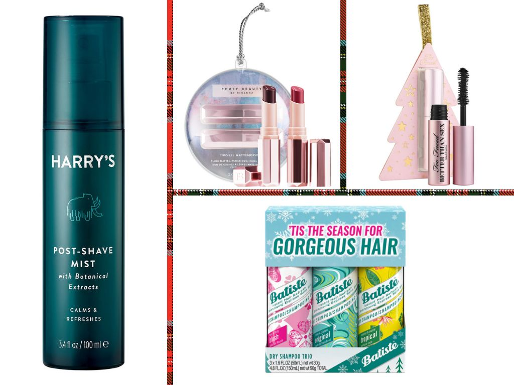 """These <a href=""""https://www.huffingtonpost.com/topic/beauty"""" target=""""_blank"""" rel=""""noopener noreferrer"""">beauty</a> gifts are great for filling up stockings this <a href=""""https://www.huffpost.com/life/topic/holiday-gift-guides"""" target=""""_blank"""" rel=""""noopener noreferrer"""">holiday season</a>."""