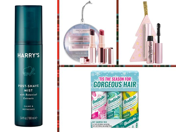 """These <a href=""""https://www.huffingtonpost.com/topic/beauty"""" target=""""_blank"""" rel=""""noopener noreferrer"""">beauty</a> gifts are great for filling up stockings this <a href=""""https://www.huffpost.com/life/topic/holiday-gift-guides"""" target=""""_blank"""" rel=""""noopener noreferrer"""">holiday season</a>.&nbsp;"""