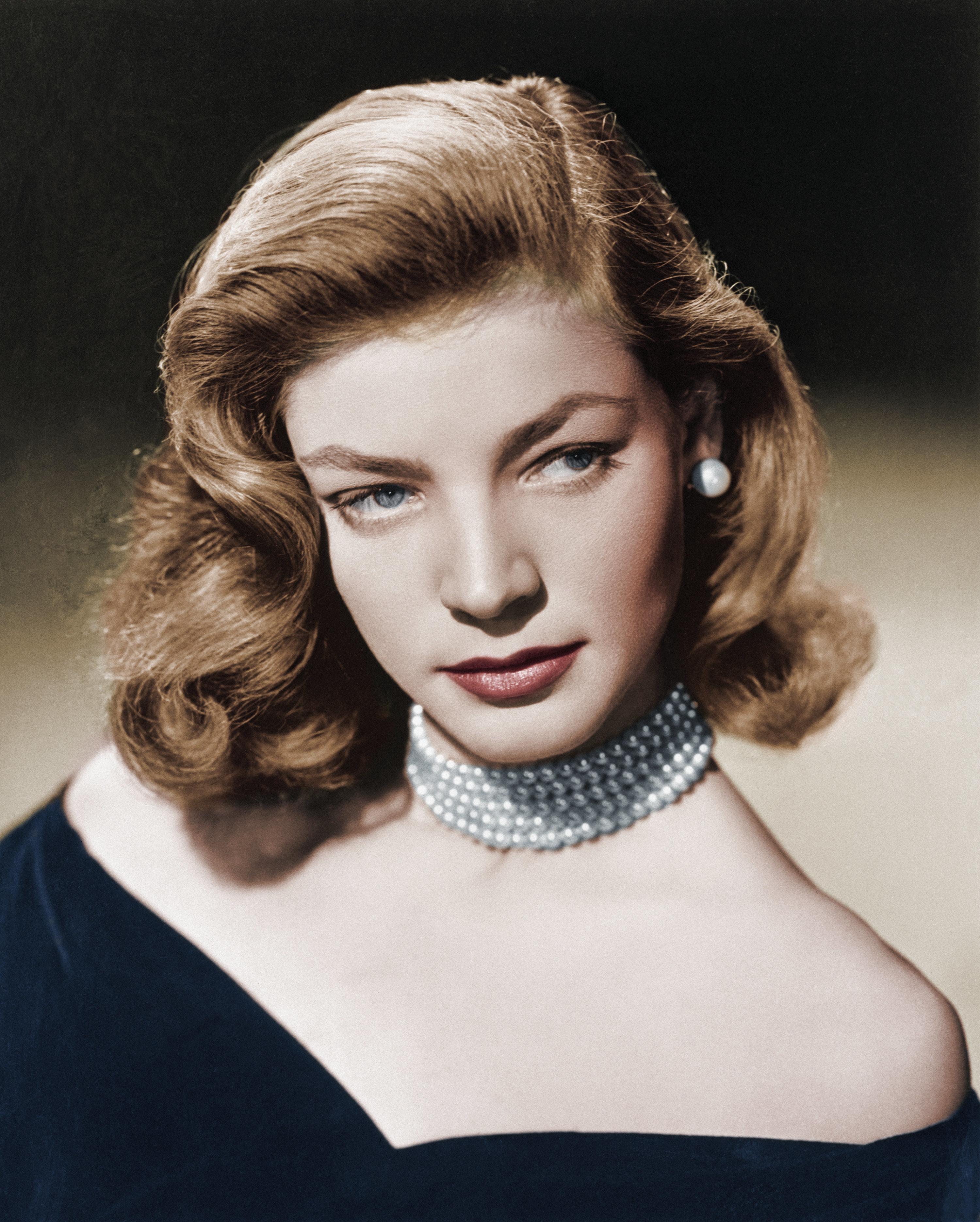 Lauren Bacall, portrait 1948