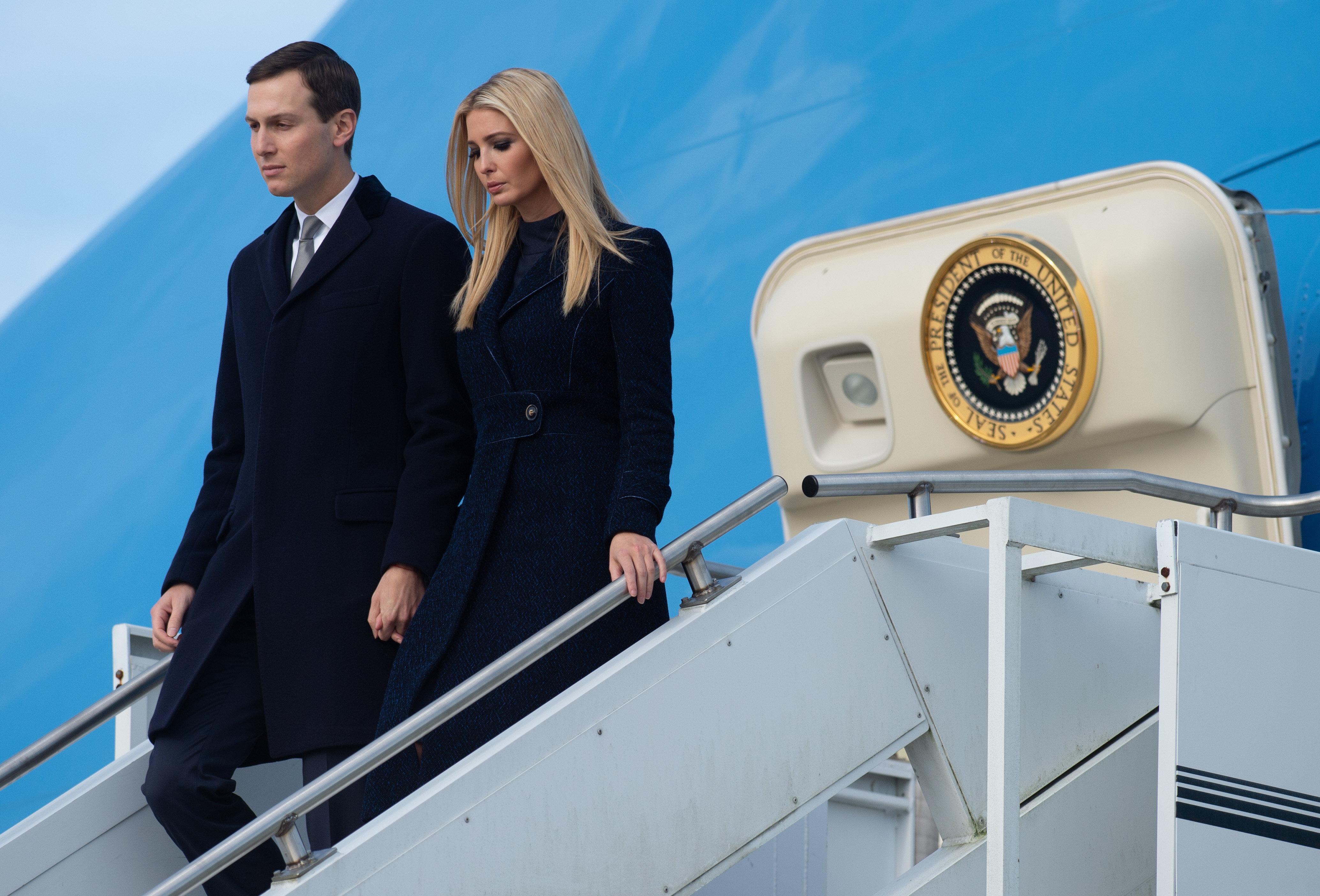 Ivanka Trump und ihr Ehemann Jared Kushner.