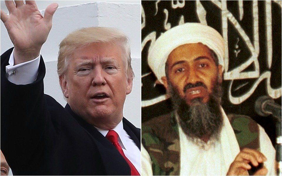 Donald Trump and Osama bin Laden