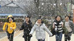 내일(21일) 서울에 첫 눈이 내릴 것
