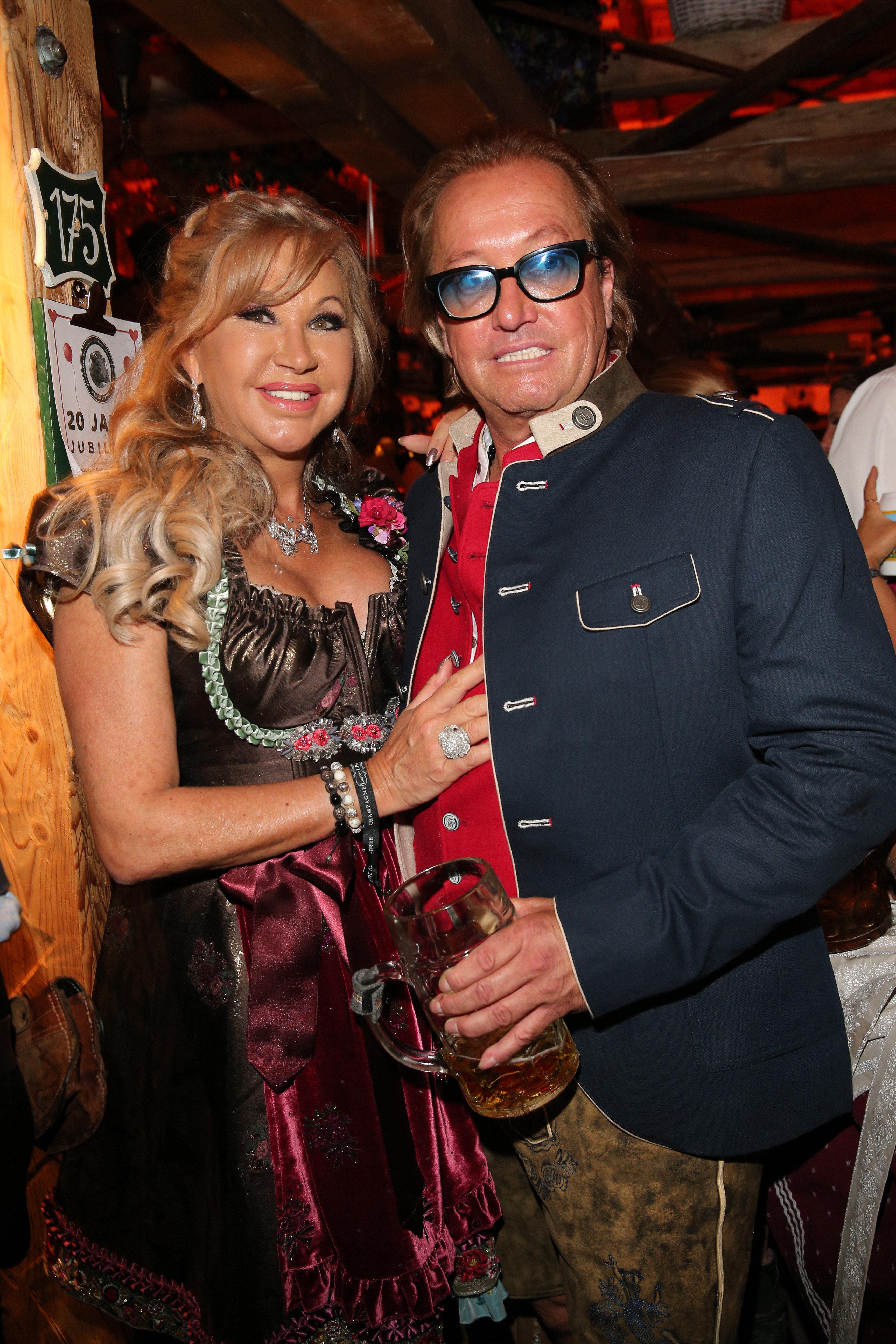 Carmen und Robert Geiss auf dem Oktoberfest.