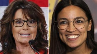 Sarah Palin, Alexandria Ocasio-Cortez