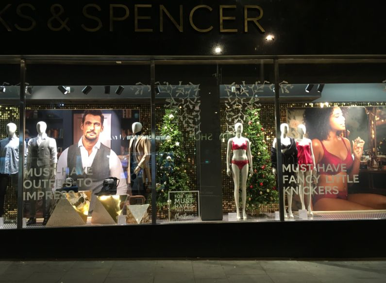 Suits For Men, 'Fancy Little Knickers' For Women: M&S 'Sexist' Christmas Window Display