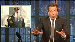 Seth Meyers Sees Vampire Horror In Donald Trump's