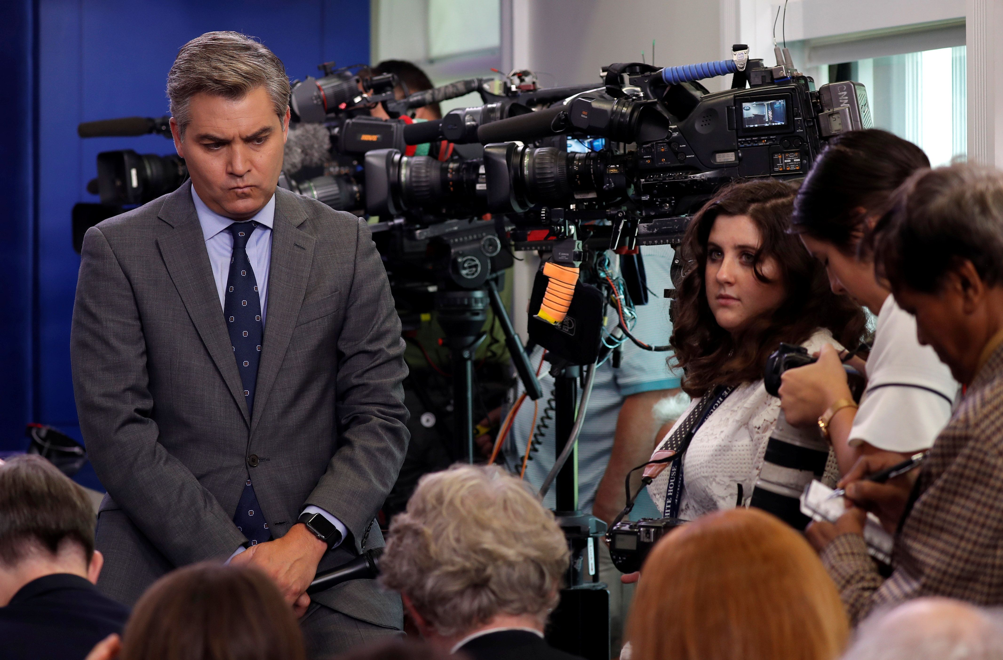 White House Issues New 'Rules' For Press Corps After Jim Acosta