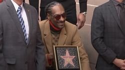 Snoop Dogg Receives Hollywood Walk of Fame