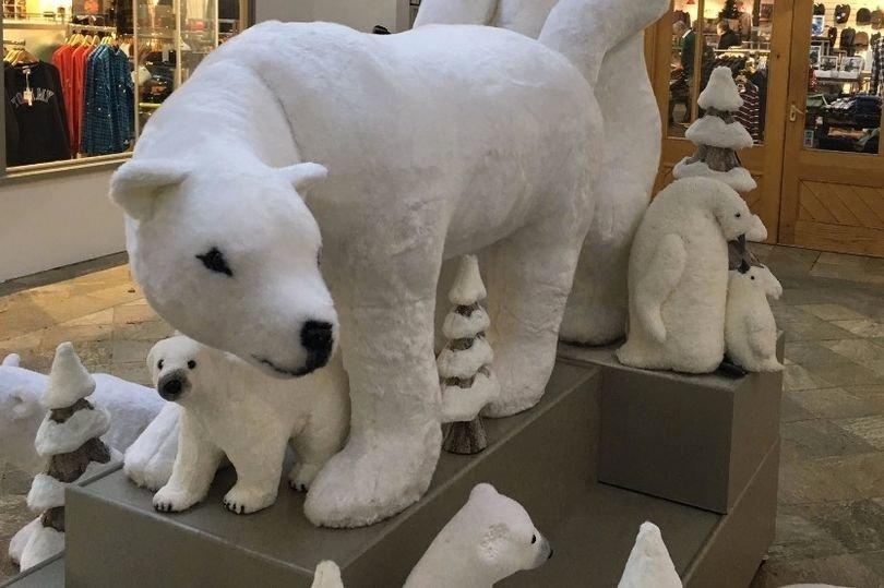 Einkaufscenter stellt schlüpfrige Weihnachts-Deko auf – Kunden sind