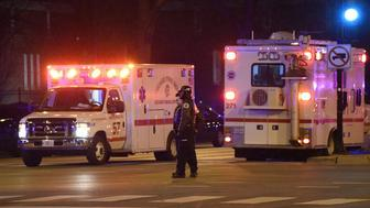 During a Monday night press conference, police said an officer and three others, including the gunman, are dead after a shooting at Chicago's Mercy Hospital. Chicago Mayor Rahm Emanuel said a doctor and a pharmaceutical assistant were the other victims.