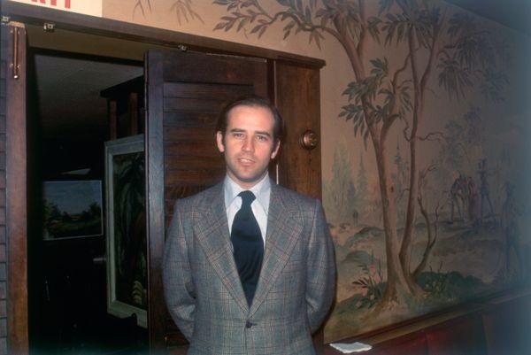 Biden circa January 1973.