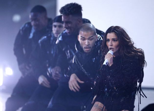 """Cheryl accused the tabloid press of""""unbalanced negativity"""" and """"relentless abuse""""..."""