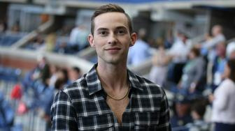 NEW YORK, NY - SEPTEMBER 8: Adam Rippon attends the women's final on day 13 of the 2018 tennis US Open on Arthur Ashe stadium at the USTA Billie Jean King National Tennis Center on September 8, 2018 in Flushing Meadows, Queens, New York City. (Photo by Jean Catuffe/GC Images)