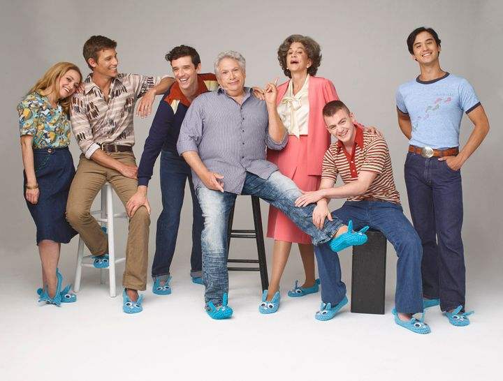 """""""It's important to tell stories like this. Challenge norms. And, you know, keep people thinking,"""" Horton (second from l"""
