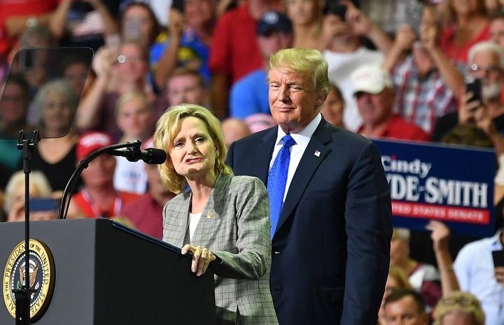 President Donald Trump will travel to Mississippi to stump for a candidate who spoke favorably of lynching and voter disenfra
