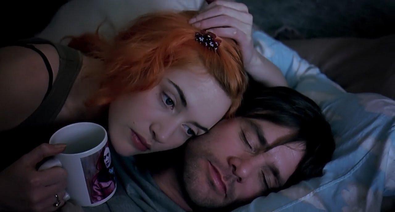 """Eternal Sunshine of the Spotless Mind"" on Netflix."
