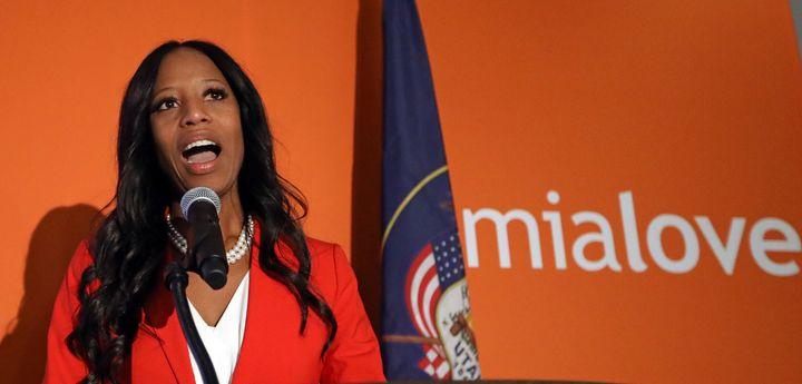 Rep. Mia Love (R-Utah) lost her re-election bid to Democrat Ben McAdams.