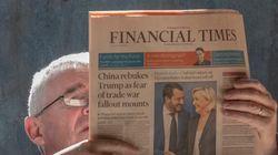 '파이낸셜 타임즈'가 남성 이야기만 인용한 기사를 지적하는 봇을