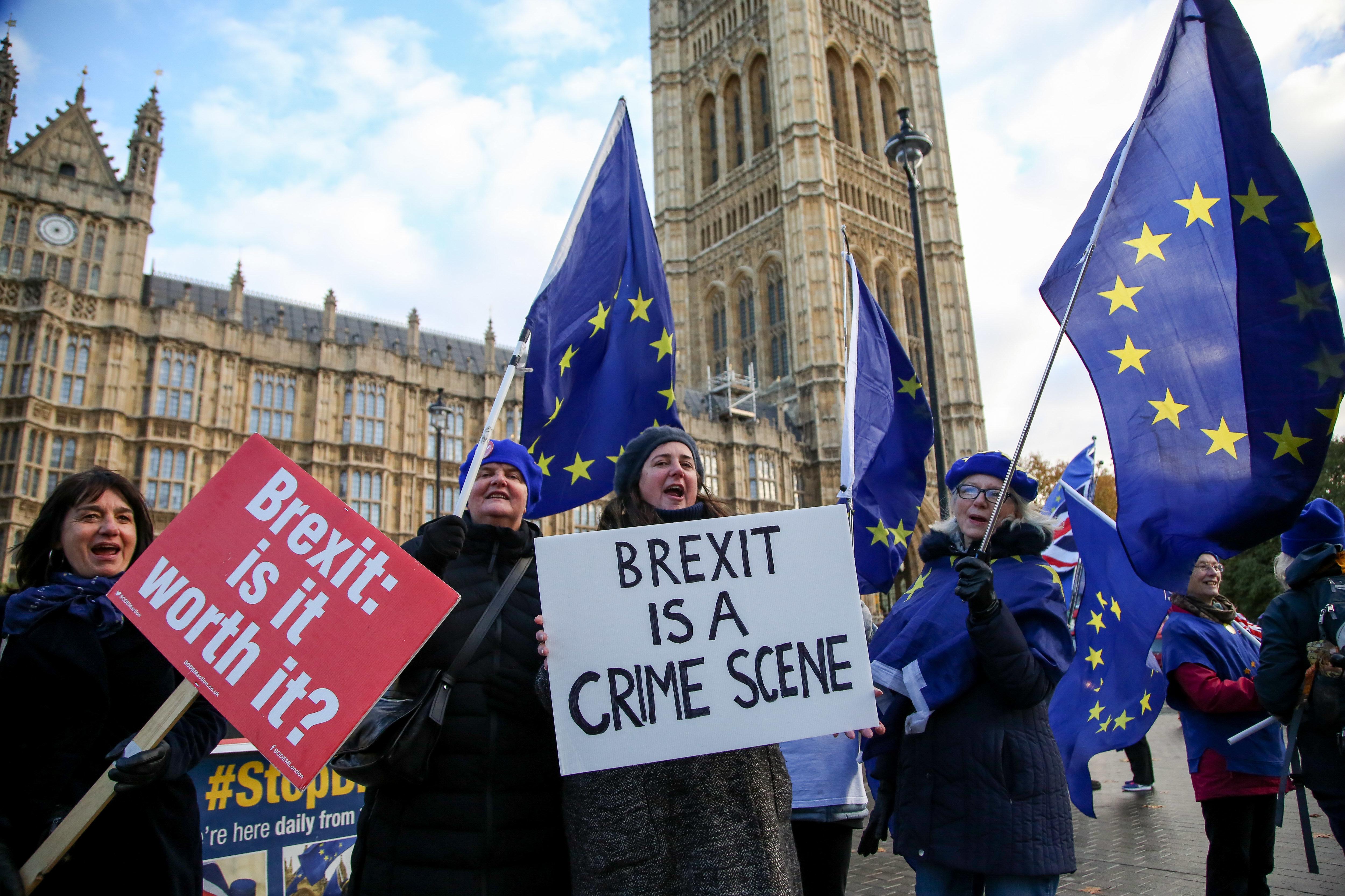 '브렉시트 번복 가능성' 재판 중단하라는 영국 정부 요청이