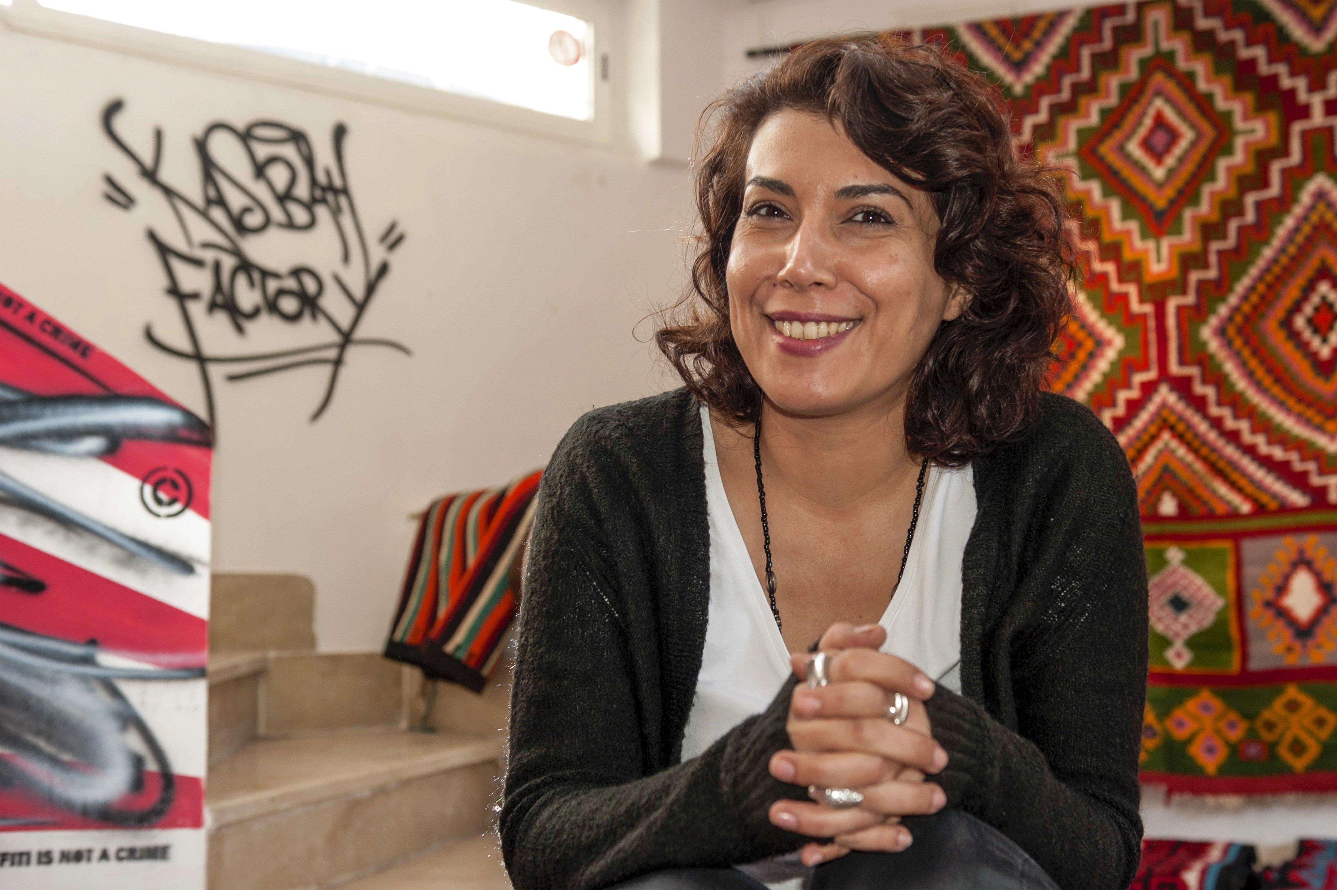 Nadia Khiari alias Willis From Tunis, présidente du jury du 21ème Festival de la caricature et du dessin de presse de