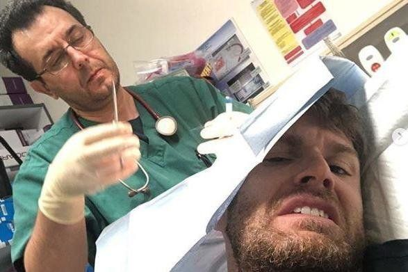 OUCH: I'm A Celebrity's Joel Dommett Misses 'Extra Camp' After Being Rushed To Hospital Due To On-Set