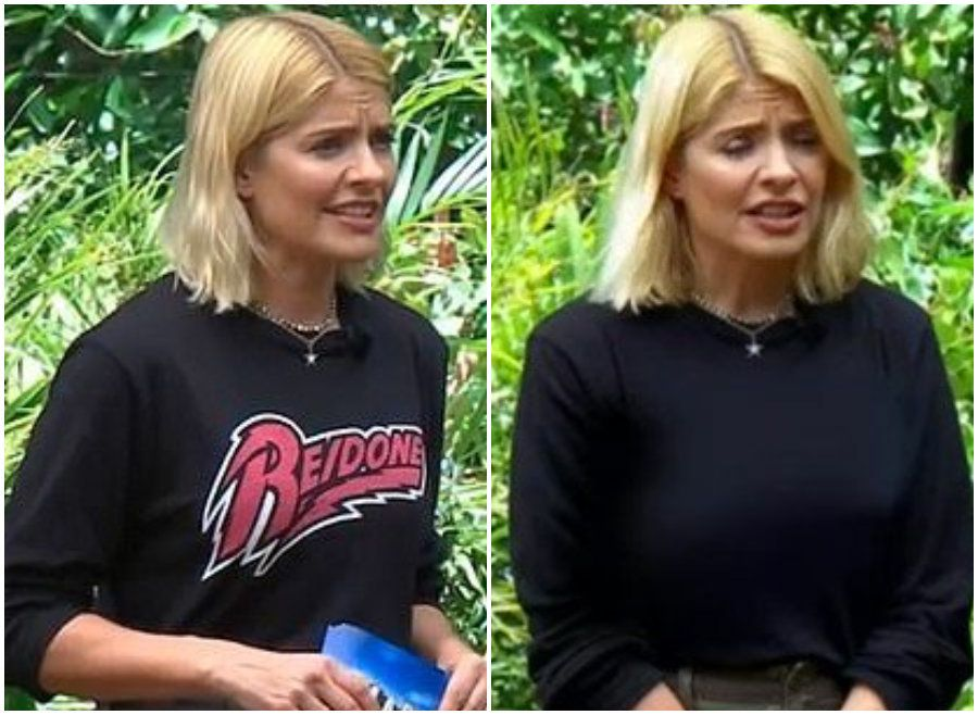 'I'm A Celebrity' Fans Spot Continuity Error As Holly Willoughby's Top Changes During Bushtucker