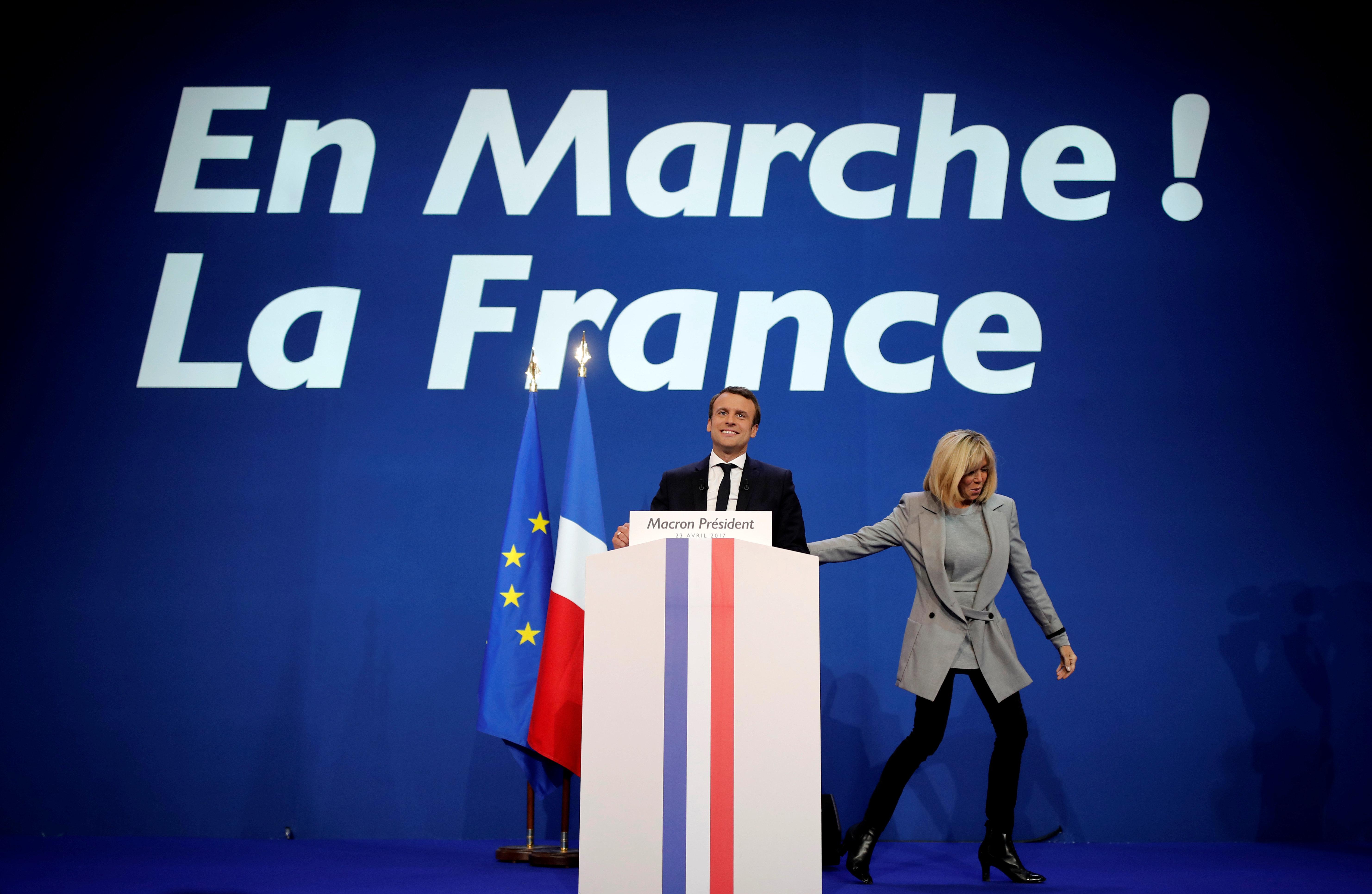 Le parti d'Emmanuel Macron visé par la justice pour des dons perçus en
