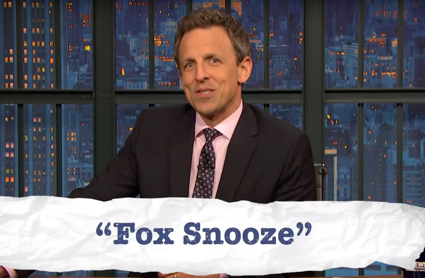Seth Meyers Zings Fox News With Thanksgiving Teen Slang