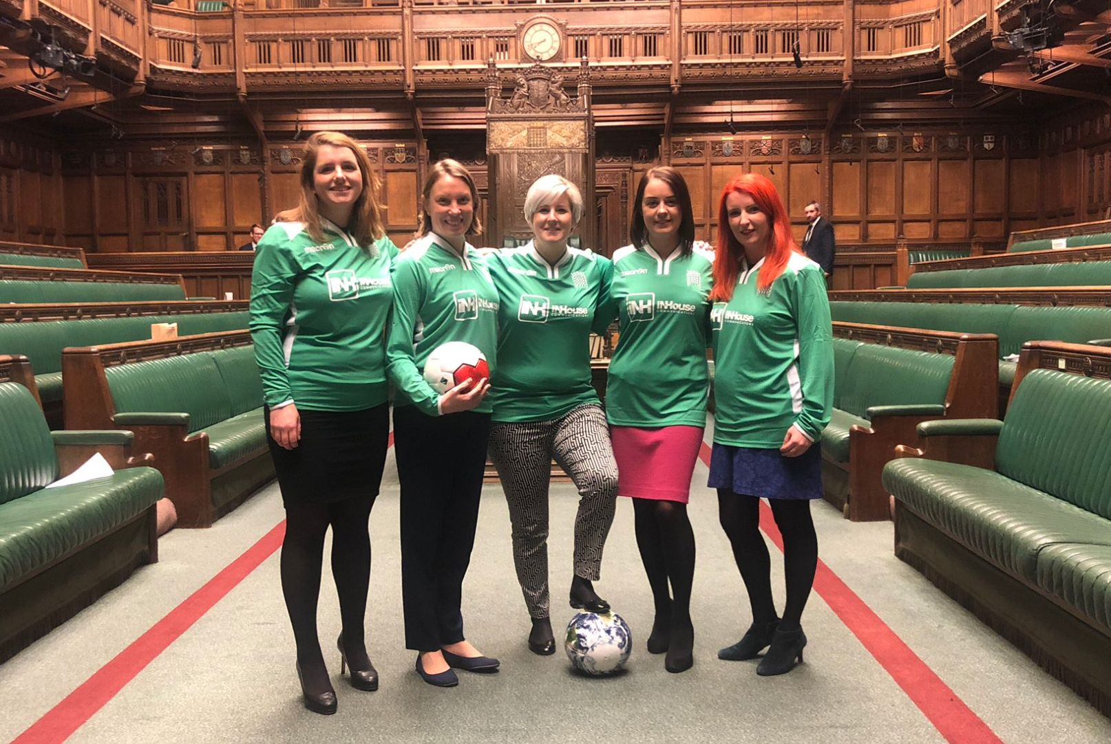 Speaker John Bercow Scolds Female MPs For Playing Football In