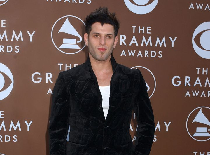 Devin Lima arrives at the 48th annual Grammy Awards in 2006.