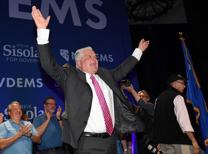 Steve Sisolak was elected governor of Nevada this month in one of several key state-level wins for Democrats.