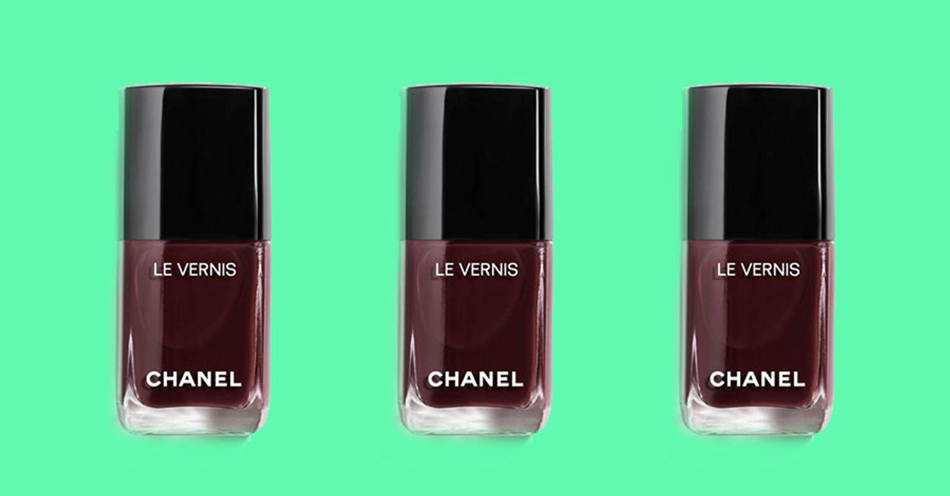 Could Poundland Burgundy Nail Polish Beat Chanel Rouge Noir ...