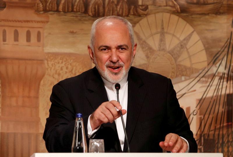 En la imagen, el ministro iraní de Exteriores, Mohammad Javad Zarif, durante una rueda de prensa en Estambul, Turquía, el 30 de octubre de 2018. REUTERS/Murad Sezer