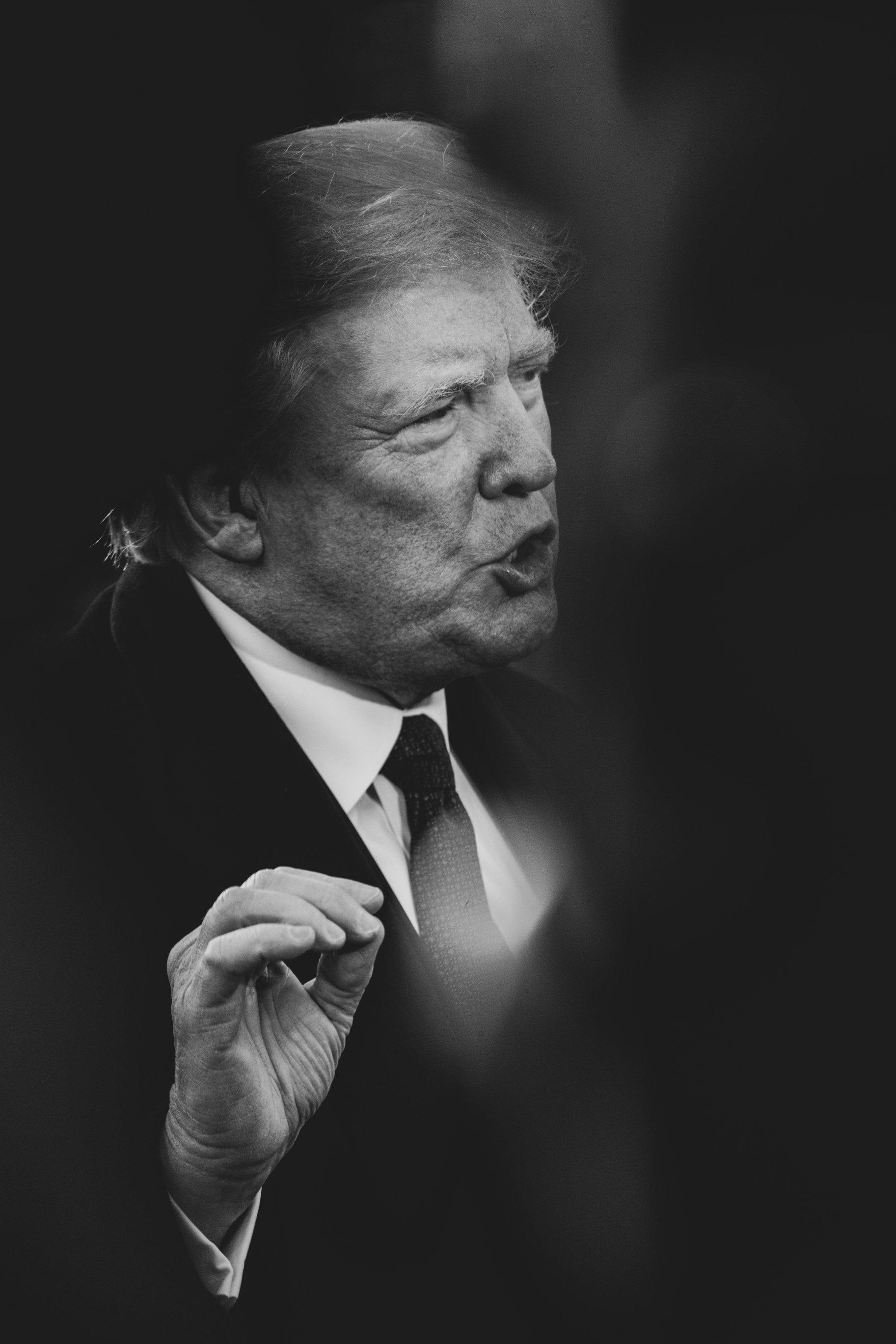 트럼프가 이민 관련 판결을 두고 연방대법원장을