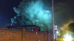Πυρκαγιά σε αμαξοστάσιο λεωφορείων στο νοτιοανατολικό