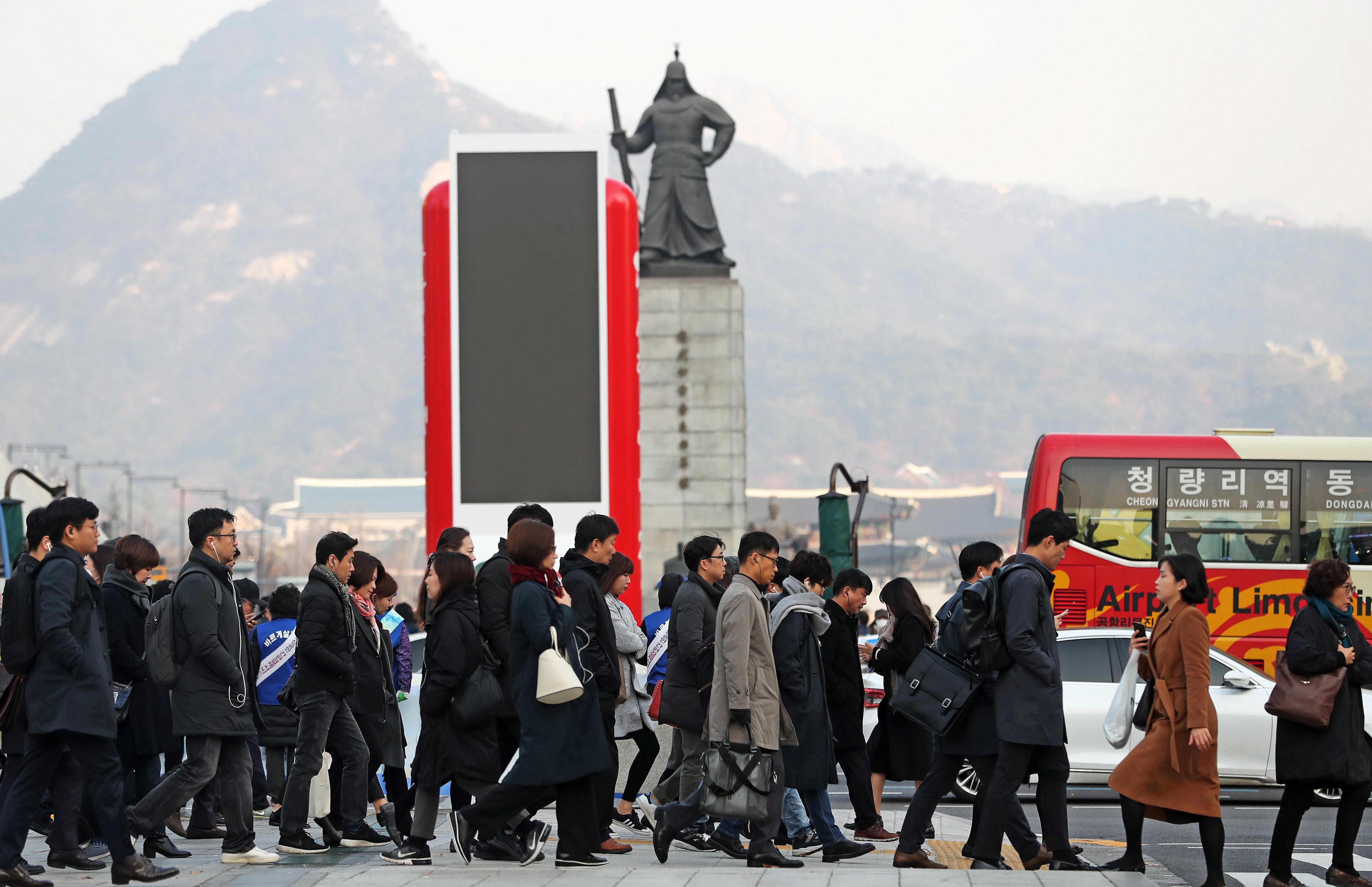 올가을 최초로 오늘 서울은 영하를 찍었다. 내일(23일)은 더