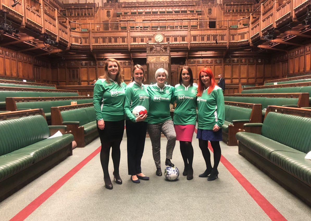 Why We're Big Fans Of The Women MPs Having A Kickabout In The