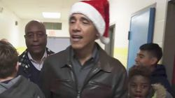 Obama Gives Back At