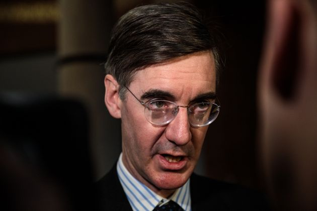 Jacob Rees-Mogg appeared to voice his support for Boris Johnson becoming the next Tory