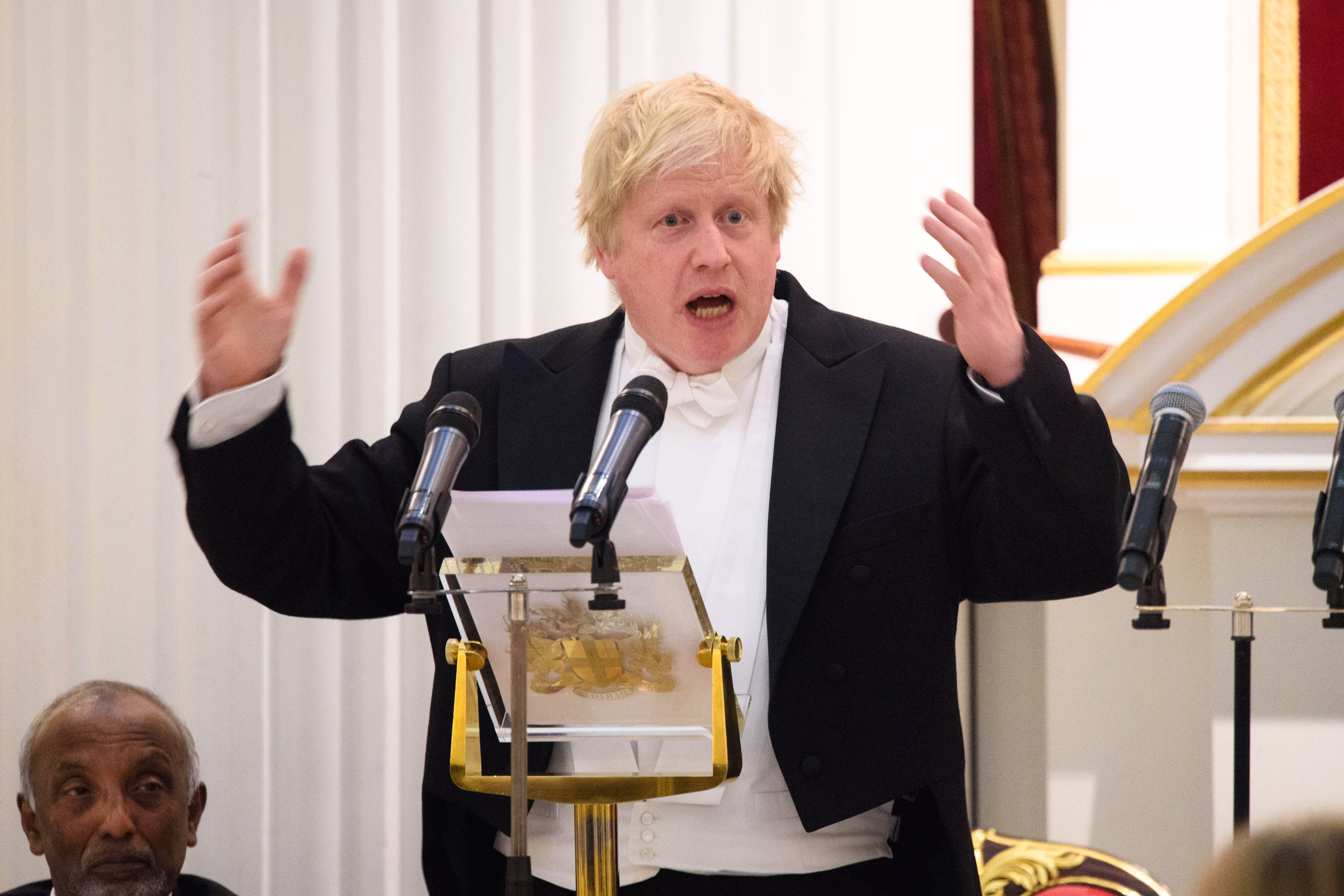 Boris Johnson was paid almost £95,000 for a single speech this