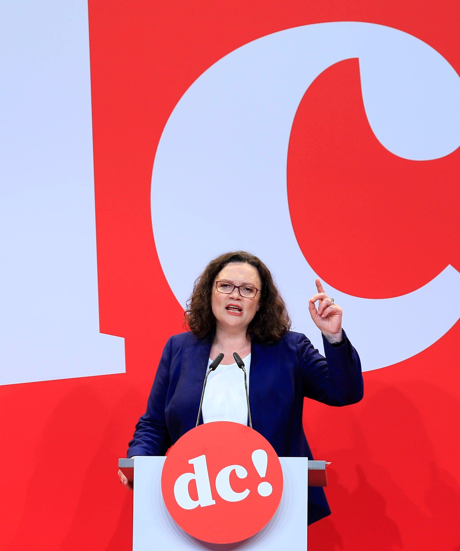 SPD-Chefin Nahles spricht über den Urfehler von Hartz