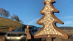 Julia unterwegs - über Stock und Stein im Range Rover