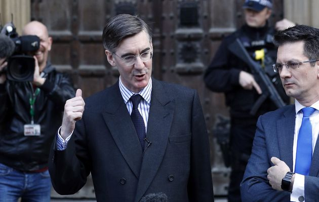 Jacob Rees-Mogg and Steve