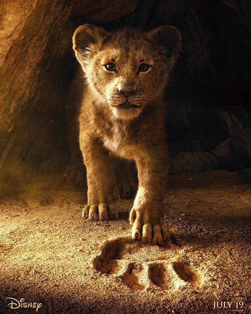 "Disney's live-action remake of ""The Lion King"" will hit theaters in July 2019."