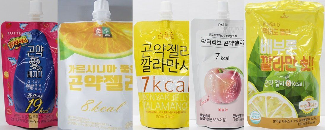 다이어트 효과 홍보한 곤약젤리 혼합음료 54개 허위·과장광고